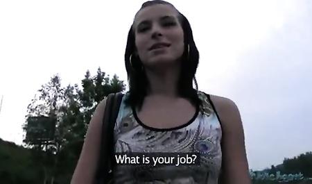 Порно видео с с чешкой за деньги