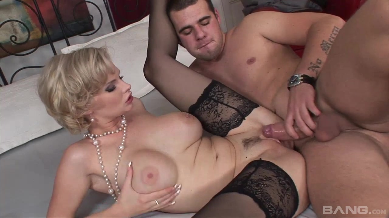 Пожилые блондинки порно