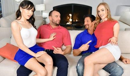 Свингерские порно онлайн