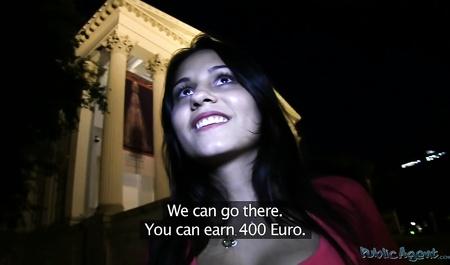 Пикапер за деньги трахнул девушку прямо на улице
